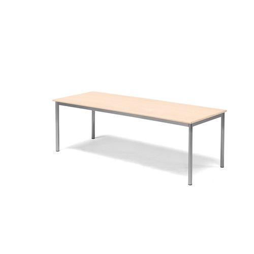 Pöytä Borås, HPL, (KxPxL) 600x1800x700 mm, Pyökki