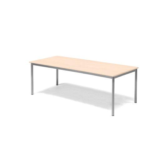 Pöytä Borås, HPL, (KxPxL) 600x1800x800 mm, Pyökki