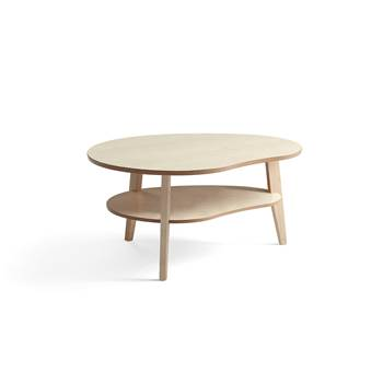 Eagle coffee table, 1000/800xH500 mm, birch