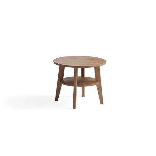 Sohvapöytä, Ø600 mm, tammi