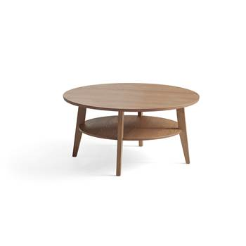 Soffbord, Ø1000 mm, ek
