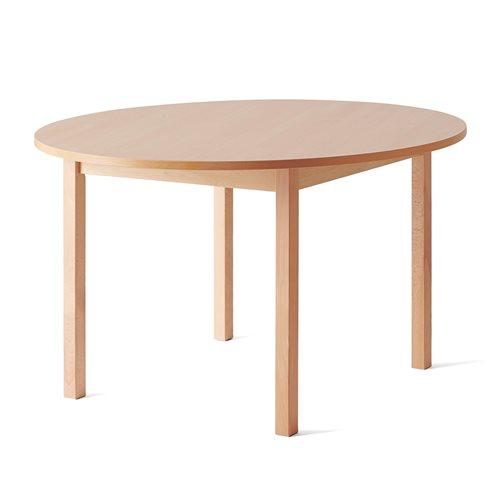 Pyöreä pöytä Europa, korkeus 720 mm, Ø1200 mm, pyökki