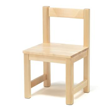 Zet children's chair, H 370 mm, birch