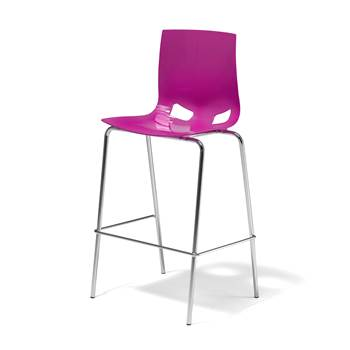 Samba bar chair, purple