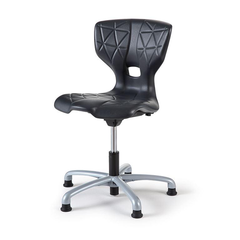Tuoli Alda X, Antrasiitti, istuinkorkeus 430-510 mm