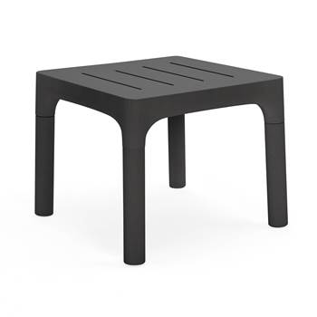 #en Table Simon black. 94x90xh75 cm.