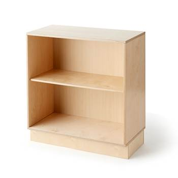Base cabinet with open shelves