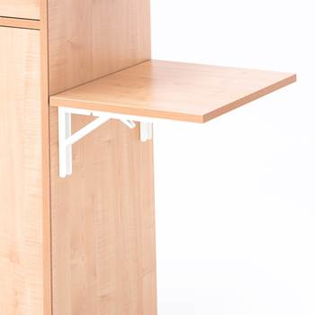 Foldable side table, R/H, beech