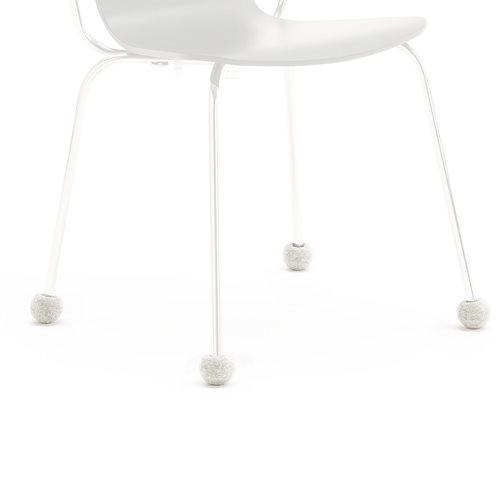Silent Socks tuolisukat, Ø16-22, vaaleanharmaa