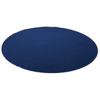 Ludde round play mat, Ø2000 mm, dark blue