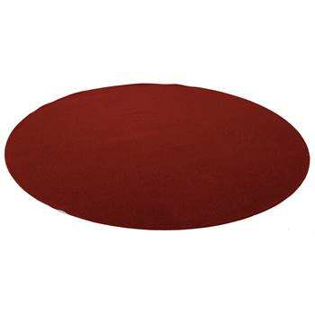 Ludde round play mat, Ø3000 mm, red