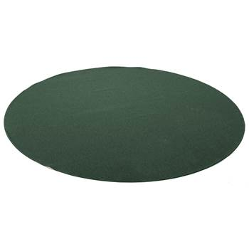 Ludde round play mat, Ø3000 mm, green
