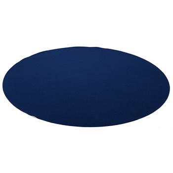 Ludde round play mat, Ø3000 mm, dark blue