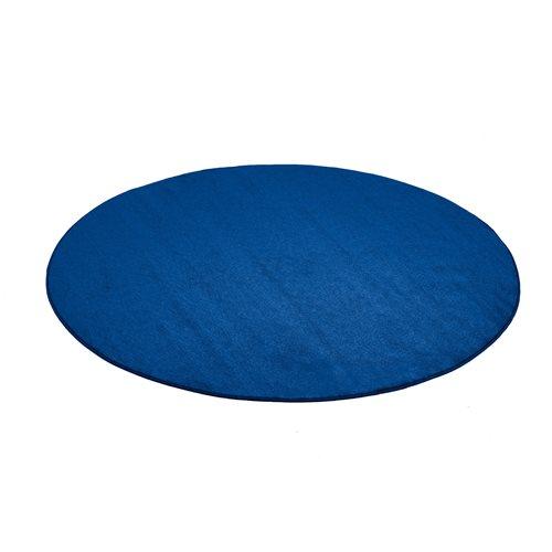 Pyöreä matto, Kalle, Halkaisija (mm):1500, Sininen