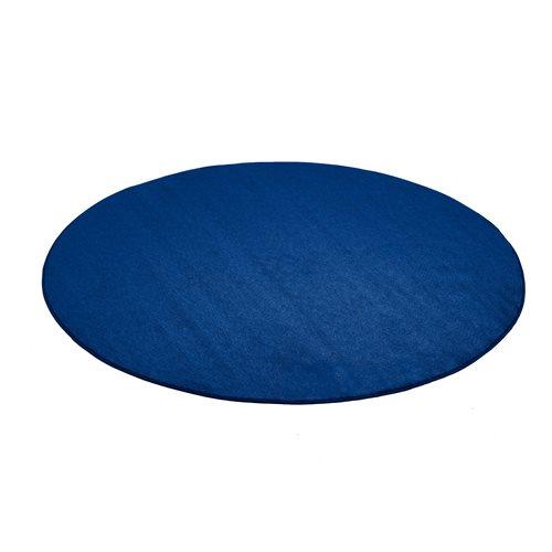 Pyöreä matto, Kalle, Halkaisija (mm):3000, Sininen