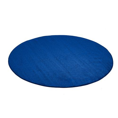 Pyöreä matto, Kalle, Halkaisija (mm):4000, Sininen