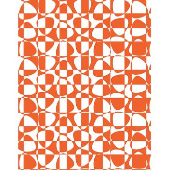 Ljudabsorberande textil Pix orange, 1400x2200 mm