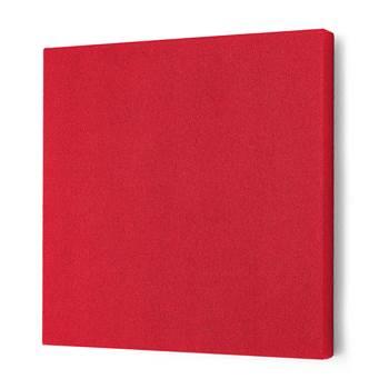 Lydabsorbent Kvadrat, 600x600 mm, rød