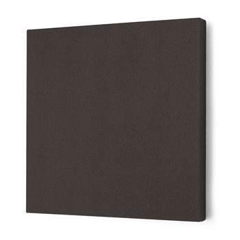 Noise absorbing panels, square, 600x600x50 mm, dark grey