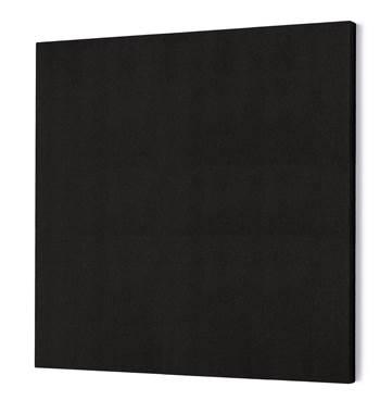 Lydabsorbent Kvadrat, 1180x1180 mm, svart