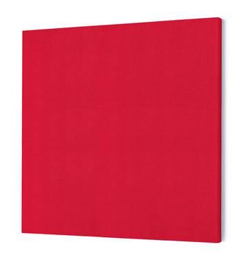 Lydabsorbent Kvadrat, 1180x1180 mm, rød