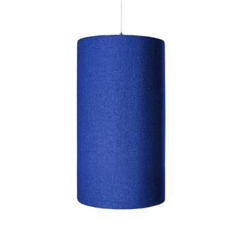 Ozdobny panel akustyczny, walec, niebieski