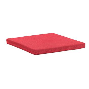 #en Seat cushion to stage Aria 600x600x50 mm ,red