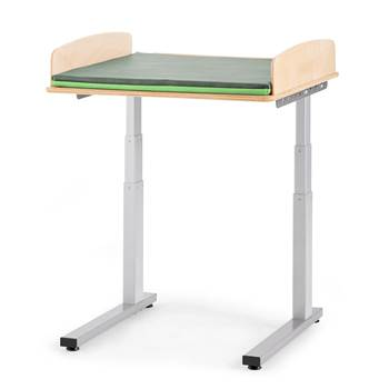 Elit Height-adjustable baby changing table, without sink, 800x800 mm