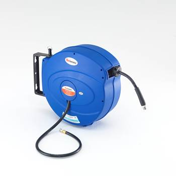 Air hose reel, 15m, 20 bar