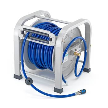 Air hose reel, 30m, 16 bar
