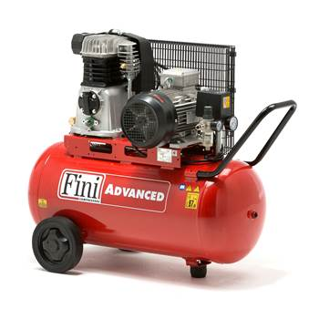 Compressor 90L - 4kW 3-phase, 460l/min, oil-lubricated