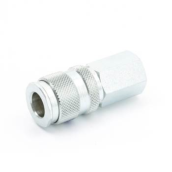 Quick coupling, interior thread, 1/2""