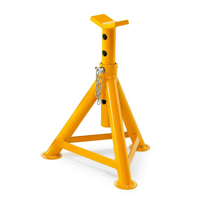 Axle stand: 8000kg/pair: H380-600mm