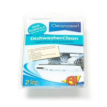 Dishwasher cleaner, 20-pack