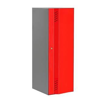 Create Energy 1-osainen, 300x1200 mm, Punainen ovi