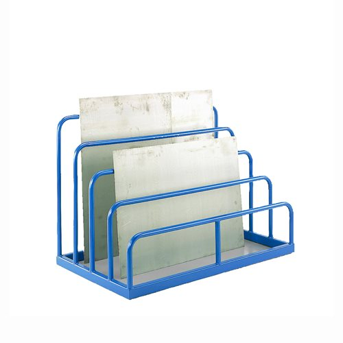 Multi height sheet rack