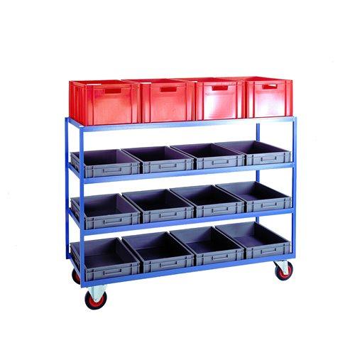 Large 4 shelf trolley
