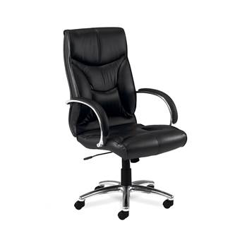"""Whist"" leather office chair"