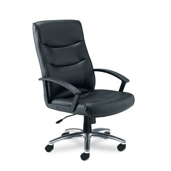"""Canasta"" office leather look chair"