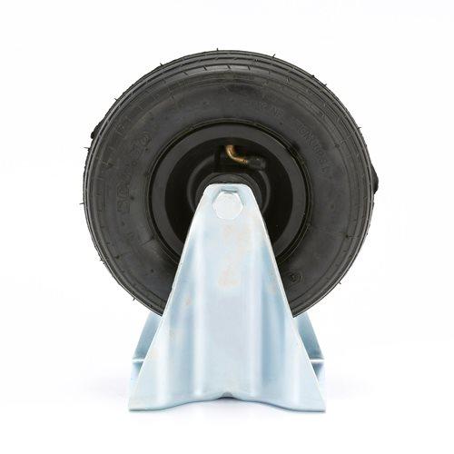 #en Fixed wheel, 200x50 mm pneumatic rubber, 75 kg