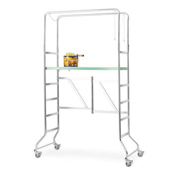 Mobile work platform, platform height 390-2000 mm