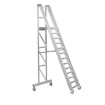 Arbetstrappa, 13 steg, höjd: 2600 mm