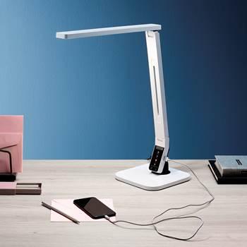 Lampa biurkowa, LED, biały