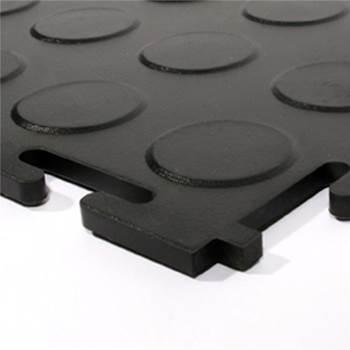 Eco studded PVC flooring
