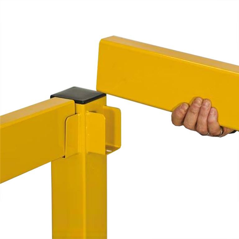 Lift-out rail barrier system