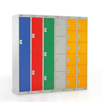 """Budget"" metal lockers"