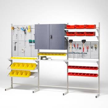 System warsztatowy na narzędzia i małe elementy