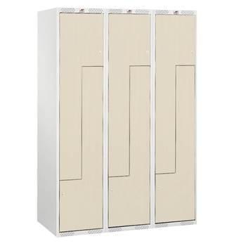 Skapji ar Z formas durvīm