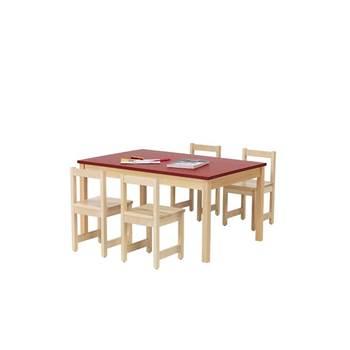 Stół DECIBEL X Stelaż z litego drewna brzozowego