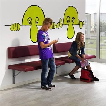 """Lidingo"" wall sofa system"